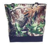 Best Lined Camouflage Beach Boat Utility Shopping Book Tote Bag Fun Inexpensive Stocking Stuffer Christmas Gift idea Nappy Bag with Zipper for Women Teachers Teens Men Work School Gym Travellers TravelNut
