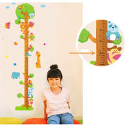 Winhappyhome Kids Growth Chart Measurement Tree Wall Stickers Removable Nursery Decor Decals