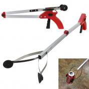 XtremepowerUS Foldable Folding Long-Reach Pick-Up Gripper