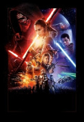 Star Wars The Force Awakens Movie Limited Print Photo Poster Harrison Ford Carrie Fisher Size 8x10 #9