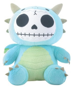 Furry Bones Scorchie Dragon 25cm Skeleton Plush Stuffed Animal