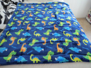 2-ply Sherpa Baby Blankets for Toddler Boys (100cm x 140cm )- HIGH Quality Plush Toddler Boy Blankets--Dinosaurs