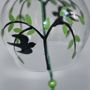 Japan Furin Windchimes Birthday Valentine's Day Gift Home Decors Hand-painted Swallow and Willow
