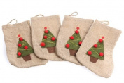 Factory Direct Craft® Burlap Christmas Stockings