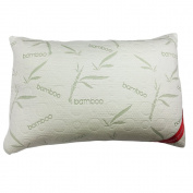 Shredded Memory Foam Pillow Micro-Vented Bamboo Cover - The Bamboo Pillow - Hypoallergenic and Dust Mite Resistant