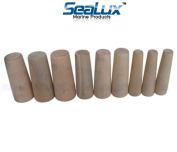 SeaLux Marine Tapered Conical Thru-hull Emergency soft Wood Plugs Set of 9 for large hull