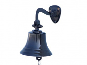 Oil Rubbed Bronze Hanging Ship's Bell 15cm - Nautical Bell- Nautical Decoration