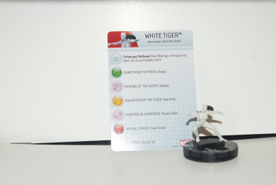 Heroclix Age of Ultron set White Tiger #006 Common figure w/card!