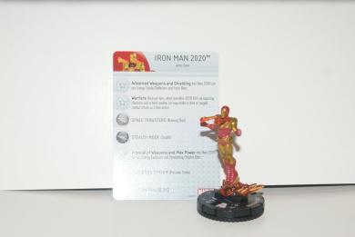 Marvel Heroclix Iron Man 2020 Age Of Ultron Wave 2 Super Rare Plus Card Mint