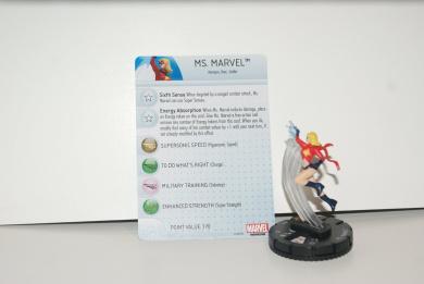 MS. MARVEL #046 Marvel HeroClix Age of Ultron Wave 2 Figure SR SUPER RARE NEW