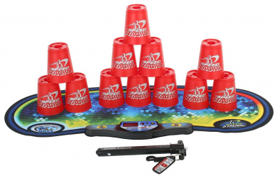 Speed Stacks Competitor - Really Red w/ Voxel Glow Mat