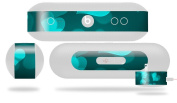 Bokeh Hearts Neon Teal Decal Style Skin - fits Beats Pill Plus