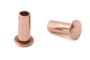 0.2cm Dia. 0.6cm Long Copper Rivets
