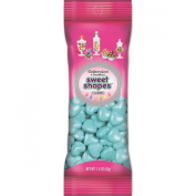 Sweetworks Hearts Shapes Candies Peg Pouch, 45ml, Light Blue