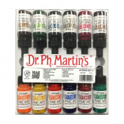Dr. Ph. Martin's Hydrus Fine Art Watercolour Bottles, 15ml, Set of 12