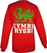 Long-Sleeve Wales Rugby T-Shirt
