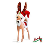 2012 Annalee Dolls 30cm Cosy Christmas Reindeer, Posable by Annalee Dolls