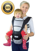Nimnyk Baby Carrier Sling - Ergonomics, Best Lumbar Support, 3 Months+
