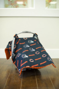 Carseat Canopy (NFL Chicago Bears) Baby Infant Car Seat Cover