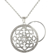 Charmed Life Magnifier Necklace - Lotus