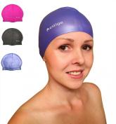 Prestige Swim Cap for Women Men Kids Premium Quality