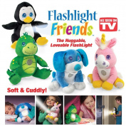 Flashlight Friends - The Huggable Loveable Child's Flash Light