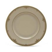 Lenox Republic Gold Banded Ivory China Salad Plate