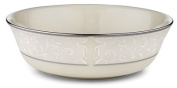 Lenox Pearl Innocence Platinum Banded Ivory China All Purpose Bowl
