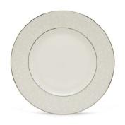 Lenox Opal Innocence Platinum Banded Bone China Dinner Plate