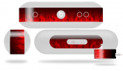 Fire Red Decal Style Skin - fits Beats Pill Plus