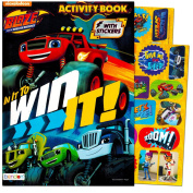 Blaze and the Monster Machines Colouring and Activity Book with Blaze Stickers--Featuring Blaze and Friends!