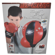 Kings Sport Kids Punching Ball With Gloves