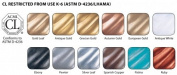 Rub N Buff Wax Metallic Finishes 12 Colour Sampler Set