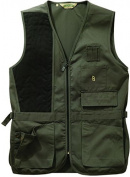 Bob Allen 240S Solid Shooting Vest - Sage, Right Hand, Medium - 240S-30190
