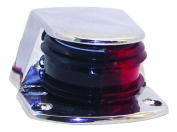 Invincible Marine Bi-Colour Bow Navigation Light with Small Chrome Zamak Housing