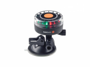 Navisafe Navilight Tricolour 2NM Boat Light with Suction Base