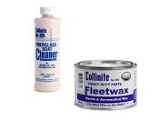 Collinite 920 Fibreglass Boat Cleaner & 885 Fleetwax Paste Combo Pack
