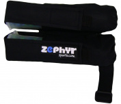 Zephyr Sports 2 Pod Paintball Harness Belt - Black