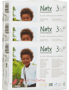Pack Of 3 Naty Midi Nappies (Size 3) 93 Nappies