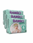 Pack Of 3 Bambo Mini Nappies (Size 2) 90 Nappies