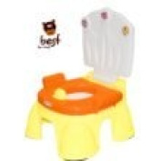 Best For Kids ORANGE Potty with footstool 2 in 1 Baby Royal Potty