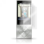 iGadgitz 3x Pack of Screen Protector for Sony Walkman NWZ-A15 NWZ-A17, NW-A25 NW-A27 MP3 Player Clear Protective Film