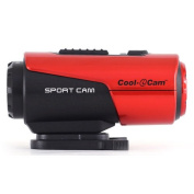 iON Cooli Point and Shoot Digital Camera - Red