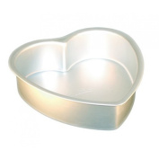 Heart Aluminium Cake Mould Pan by Silicone Bakeware