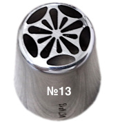 Summer Tulip Icing Piping Nozzle Stainless Steel