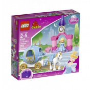 Toy / Game Lego Duplo Lovely Disney Princess Cinderella's Carriage With Detachable Skirt For Dress Up Play by 4KIDS