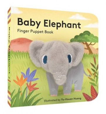 Baby Elephant: Finger Puppet Book (Little Finger Puppet Board Books)