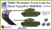 Bronco AB3565 1/35 German 80E1 Active Track Link Set for M26/M46