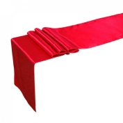 Cy-buity 30cm x 250cm Satin Table Runner Wedding Party Decorations