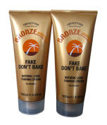 Bronze Ambition Fake Don't Bake Natural Look Tanning Cream - Pack of 2